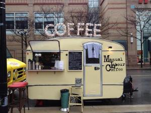 @transcendcoffee - coffee truck at Atrcrawl