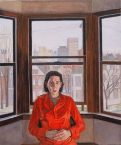 2001 Self-portrait, Bold St. 30 x 25 Oil on linen -compressed