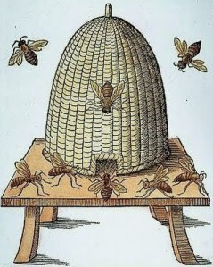 English woodcut, 1658