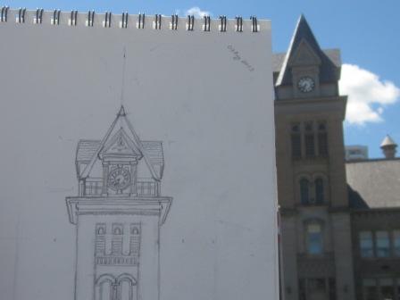 Central Public School Sketch