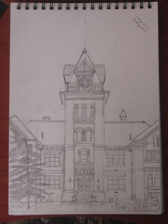 Completed Pencil Drawing