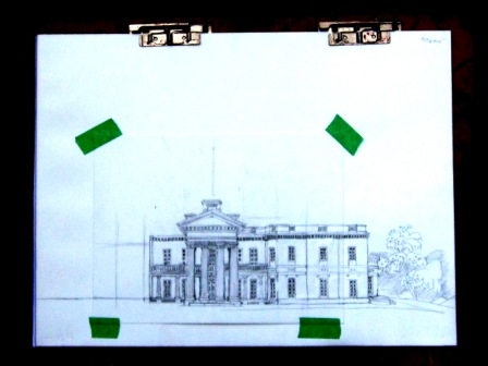 Day 2 of Dundurn Castle Sketch