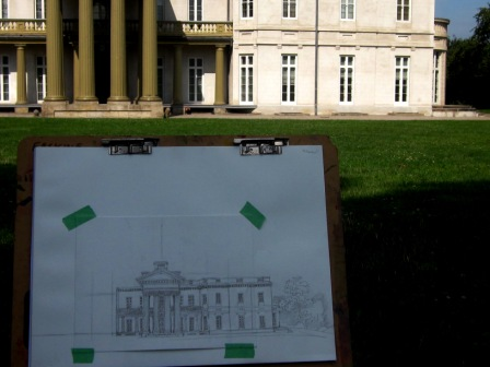 Dundurn Castle Sketch