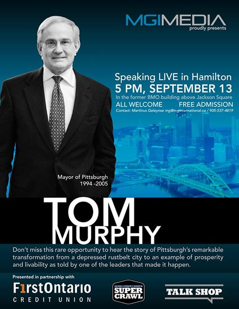 Tom Murphy, Mayor of Pittsburgh from 1994-2005.
