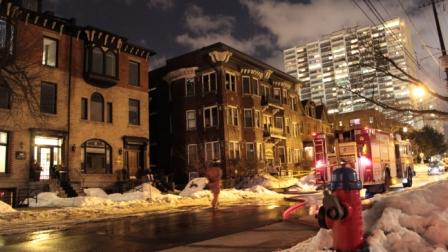 27 Bold Street Fire - Photo taken on 22 Feb 2014
