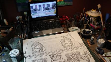 The Westdale House Sketch