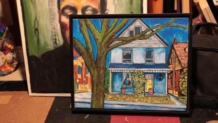 Completed Blue House