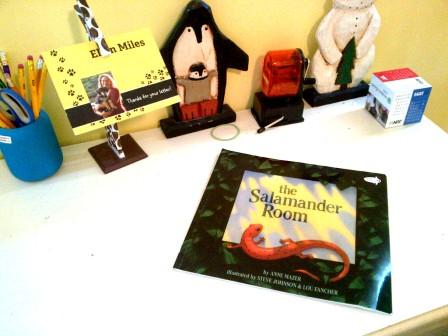 Salamander Room by Anne Mazer