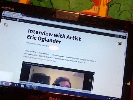 Christopher Healey's Interview