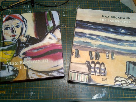 Beckman: the Still Lifes by Anna Heinze Kelly and Simon (Nov 2014); Max Beckmann: the Landscapes by Hans Belting &Berhard Mendes Burgi (2011)