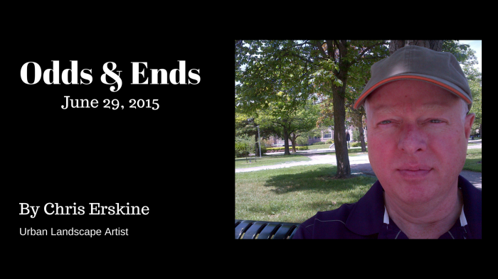 Odds & Ends: 29 June 2015