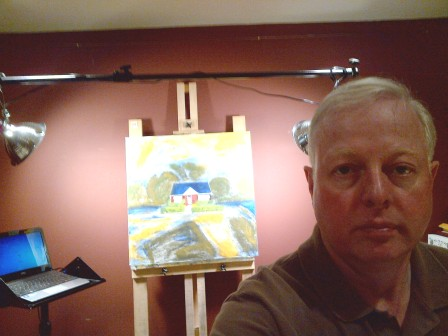 Chris Erskine, urban landscape artist