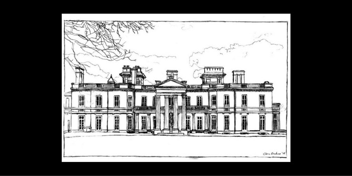 Dundurn Castle Sketch by @erskinec