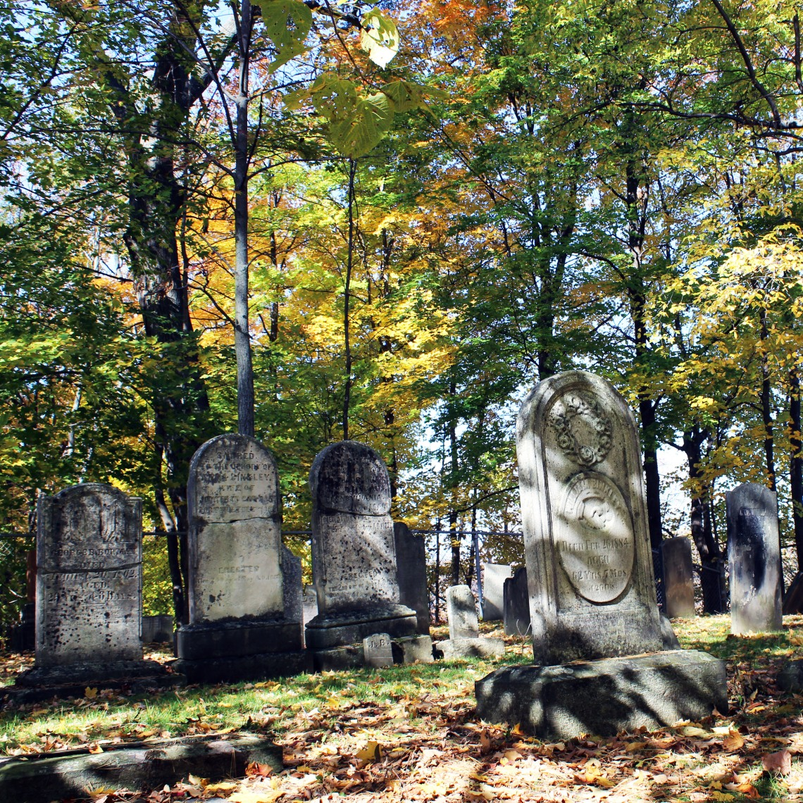 Binkley Pioneer Cemetery, Hamilton (Ont). Photo by @erskinec