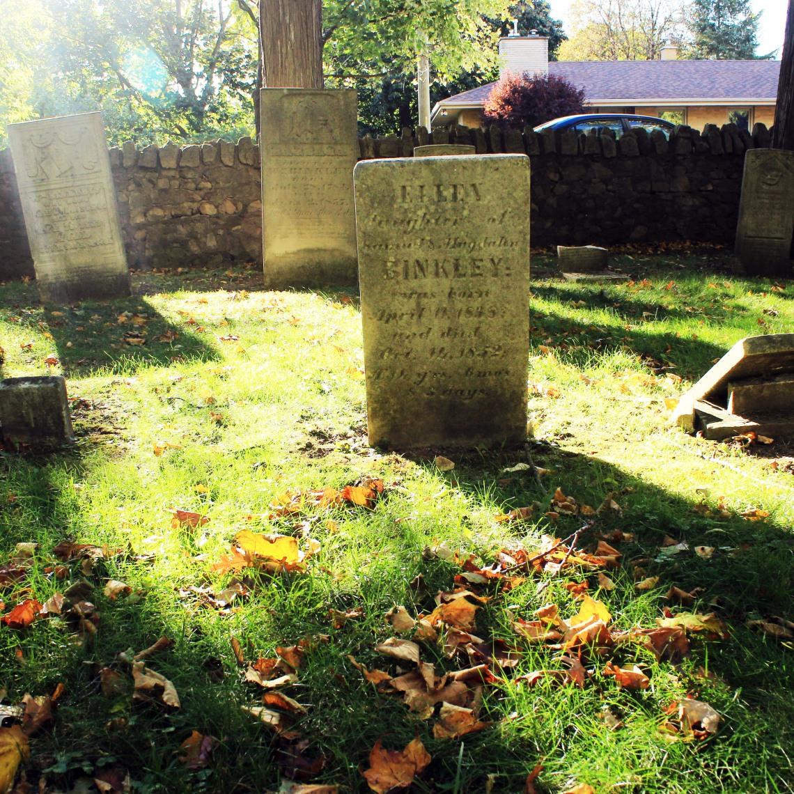 Binkley Hallow 1854 Cemetery, Hamilton (Ont) Photo by @erskinec