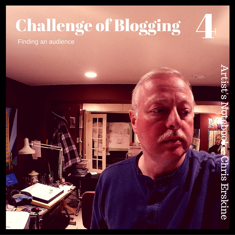 Challenge of Blogging by #artist @erskinec