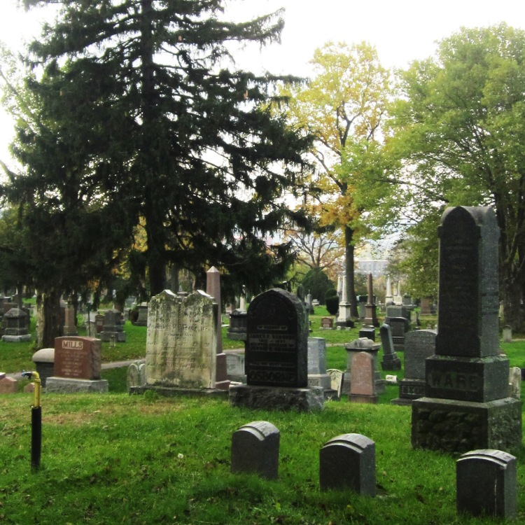 Hamilton Cemetery, Hamilton (Ont). Photo by @erskinec