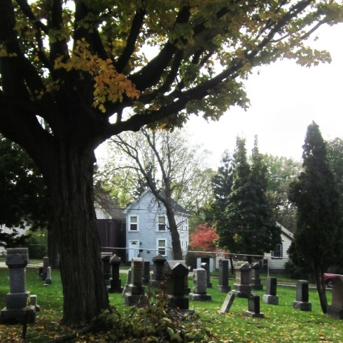 Hamilton Cemetery is the Oldest Public Cemetery in Canada. Photo by @erskinec