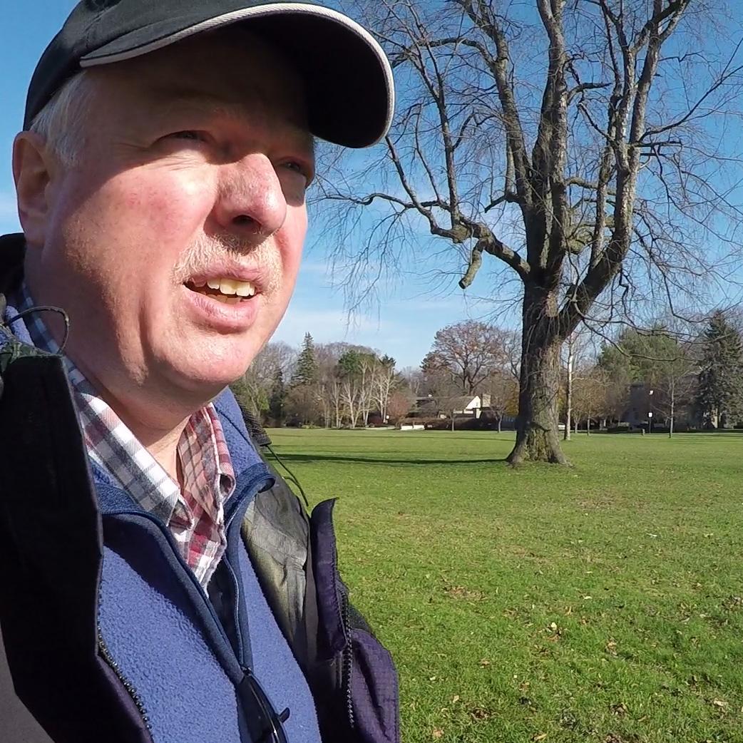 Chris Erskine, Urban Landscape Artist and Blogger