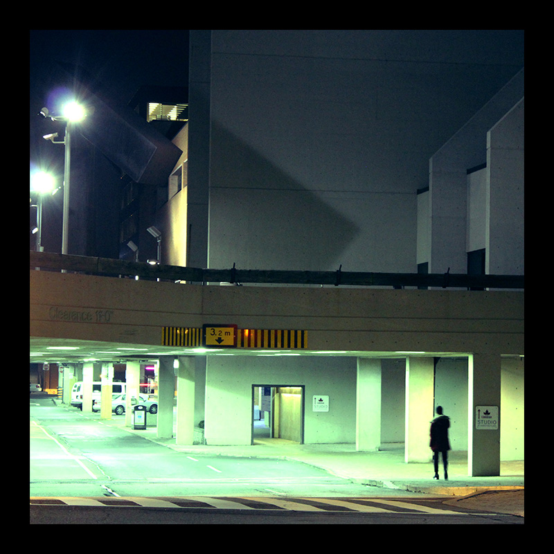 Underground Parking, Hamilton (Ont). Photo by @erskinec