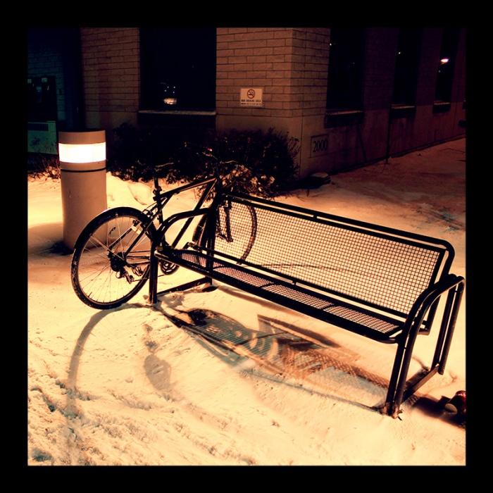 IAHS Bike, Hamilton (Ont). Photo by @erskinec