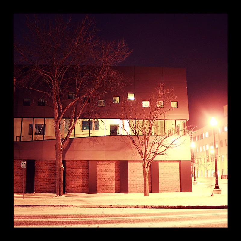 Psychology Building, Hamilton (Ont). Photo by @erskinec