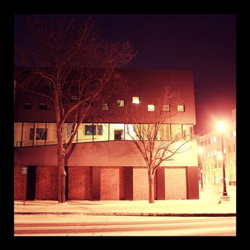 Psychology Building, Hamilton (Ont). Photo by @erskinec