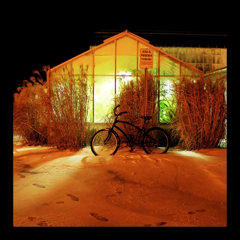 Greenhouse Bike, Hamilton (Ont). Photo by @erskinec