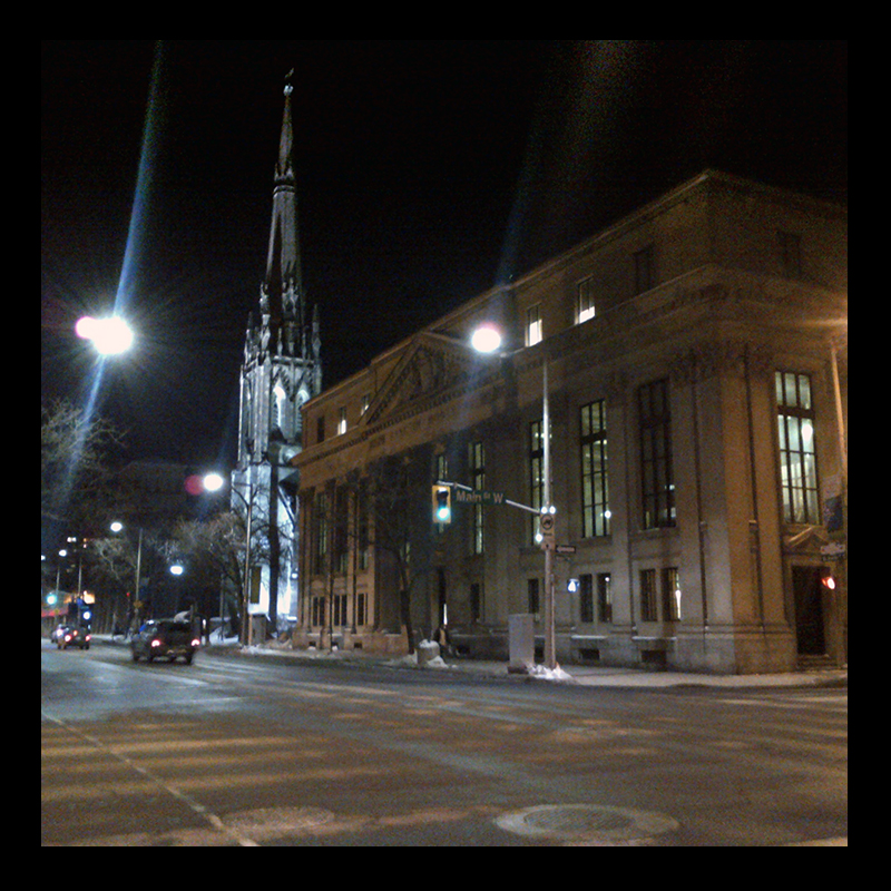 St. Paul's, Hamilton (Ont). Photo by @erskinec