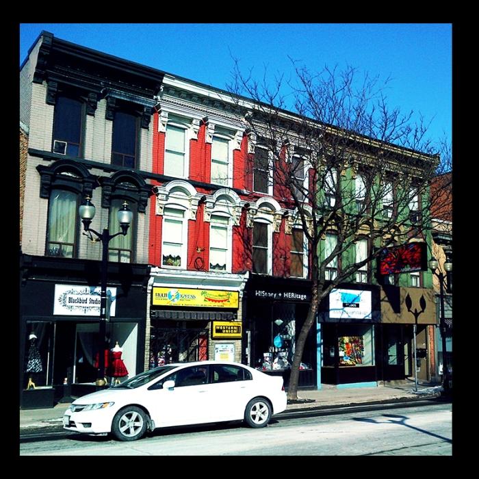 James Street North, Hamilton (Ont). Photo by urban landscape artist @erskinec