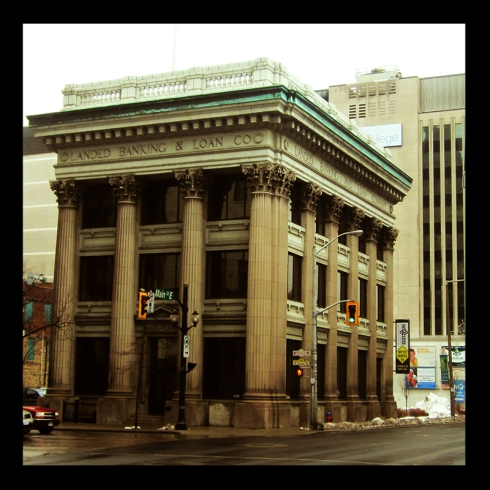 Land Bank, Hamilton (Ont). Photo by urban landscape artist @erskinec