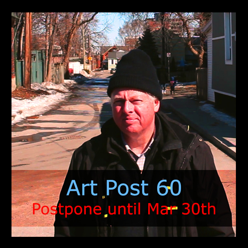 Art Post 60 by urban landscape artist, Chris Erskine