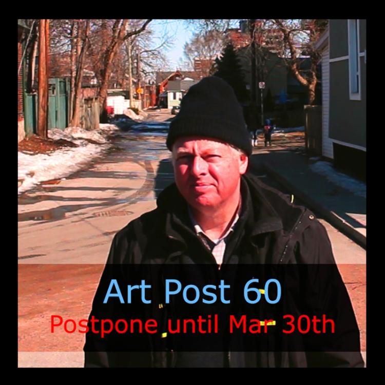 Art Post 60 by urban landscape artist, Chris Erskine