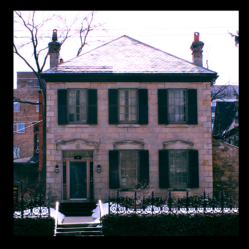 1840s Rastrick House (architect home who built the Castle), Hamilton's Corktown.  Photo by @erskinec