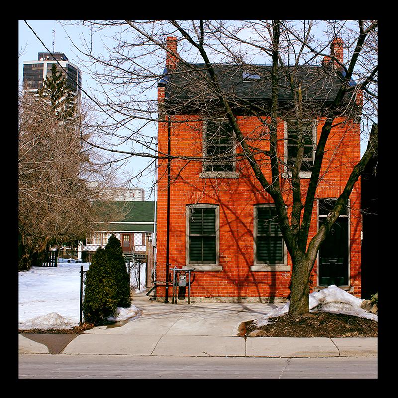 19th Corktown House, 131 Augusta Street, #HamOnt Photo by @erskinec
