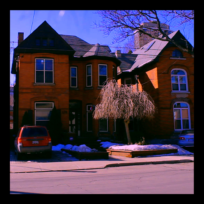 172 Young Street, 1880s Corktown Housing, Hamilton (Ont). Photo by @erskinec