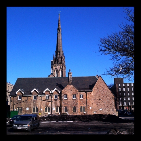 St. Paul's, founded in 1834, Hamilton (Ont).  Photo by @erskine