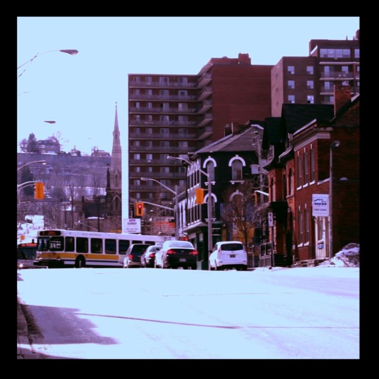 John Street South, Hamilton (Ont). Photo by @erskinec