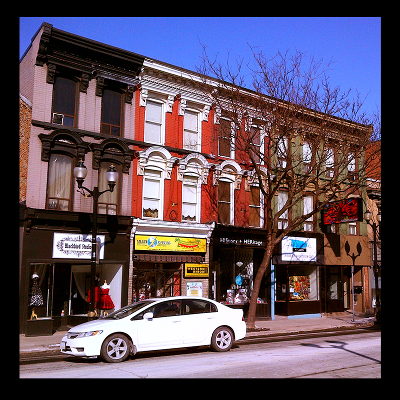 James Street North, Hamilton (Ont). Photos by @erskinec