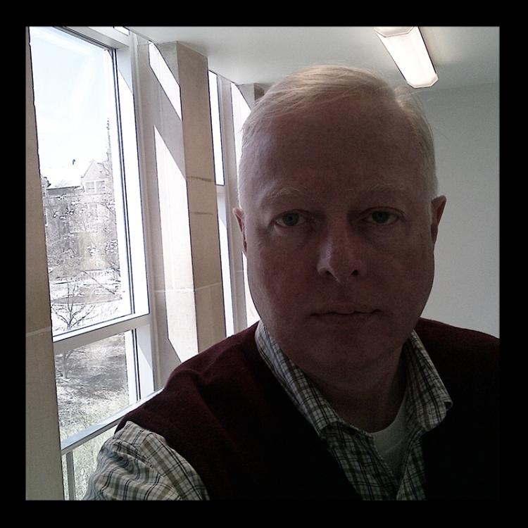 Artist Chris Erskine at Joseph Hartman's Talk