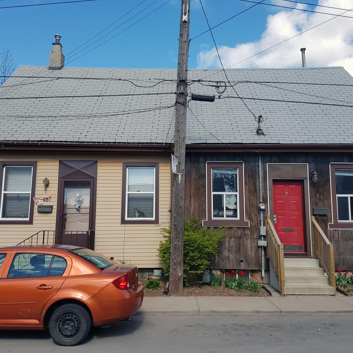 19th century Worker Housing, Hamilton (Ont).