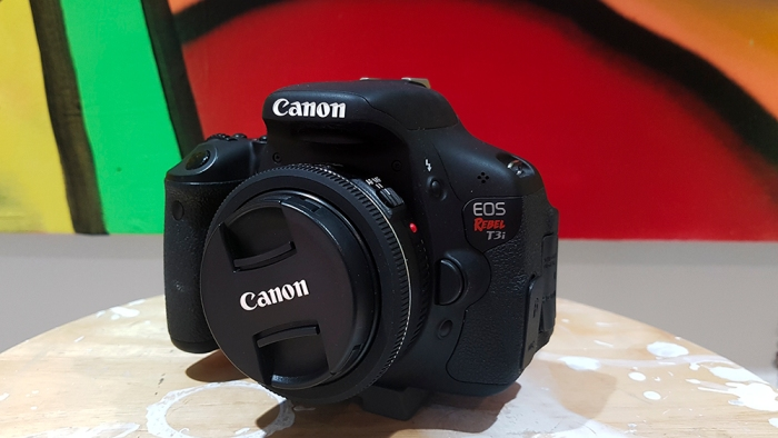 camera T3i crashes