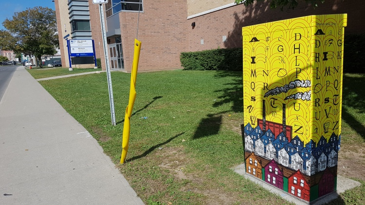 Hamilton Utility Box Art